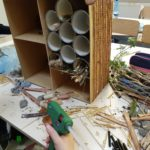 Embassy International School: Bug hotels00008