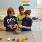 Embassy International School, International Day, Indian Cooking workshop, May 2019-00067