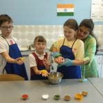Embassy International School, International Day, Indian Cooking workshop, May 2019-00093